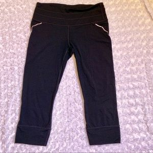 Athleta, Cropped Yoga Pants (af455)